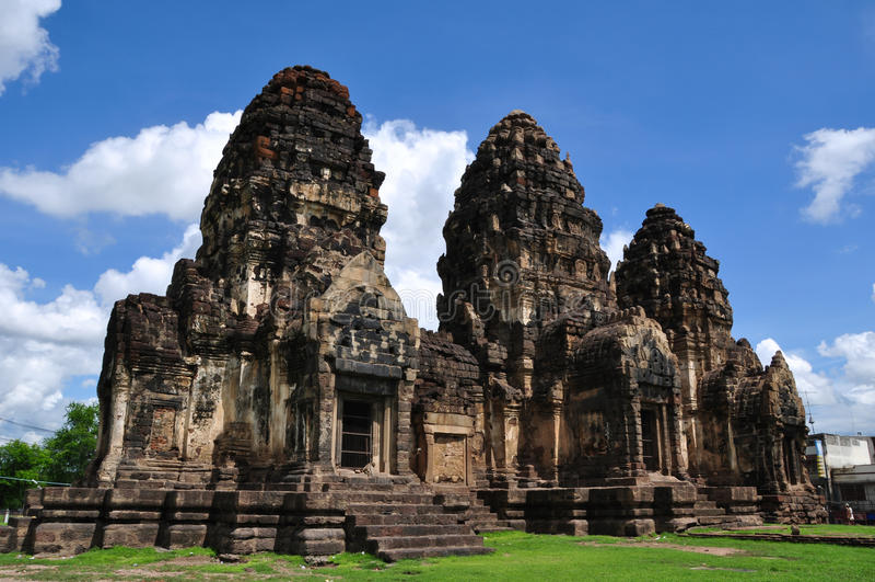 Pagoda Lopburi royalty free stock photos