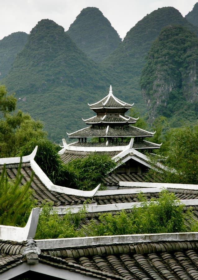 Pagoda méridionale de la Chine photos libres de droits