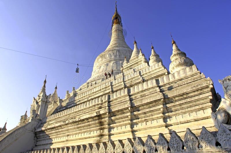 pagoda mandalay myanmar стоковое фото rf