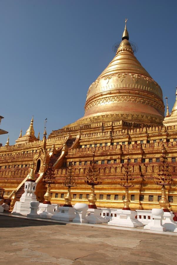 pagoda myanmar стоковые фотографии rf