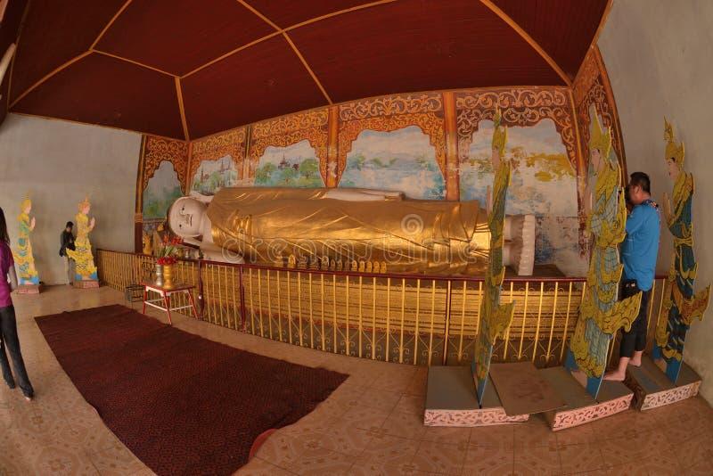 Pagoda Myanmar Bagan security lying buddha stock photos