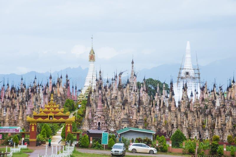 Pagoda Myanmar de Kakku photographie stock