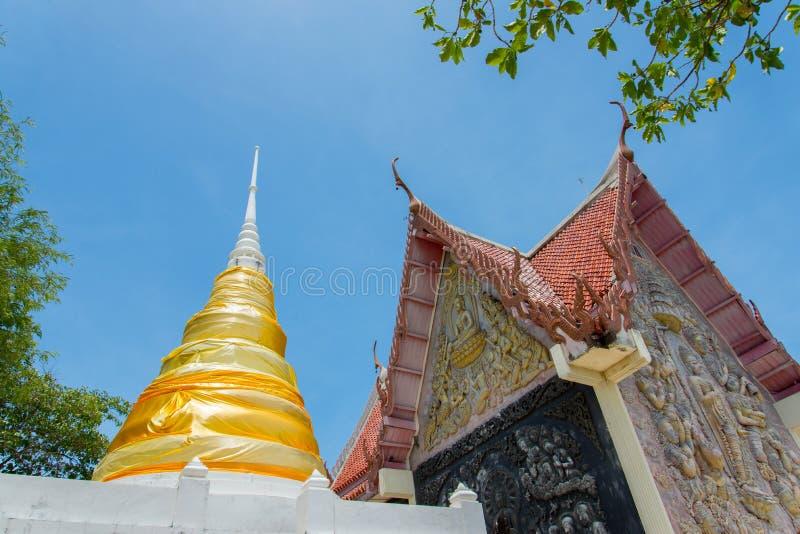 Pagoda nel tempiale fotografie stock libere da diritti