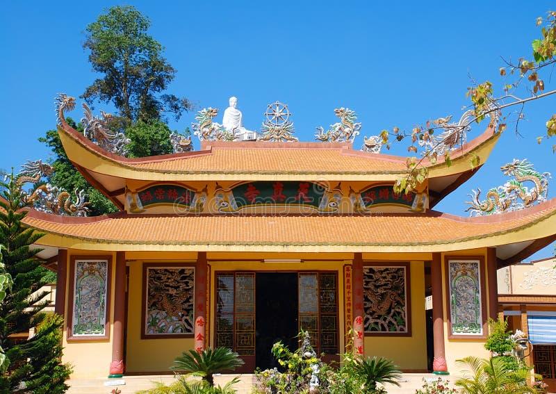 Pagoda nel Vietnam fotografie stock libere da diritti