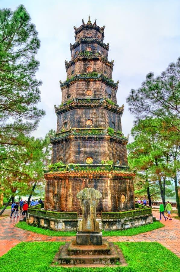 Pagoda nella tonalità, Vietnam di Thien MU fotografie stock libere da diritti