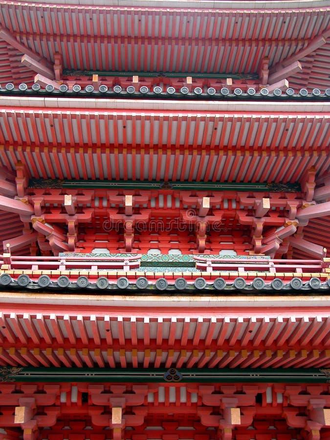 Pagoda-particolare Fotografie Stock Libere da Diritti