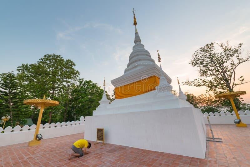 Download Pagoda Przy Watem Phra Który Kao Noi, Nan Fotografia Editorial - Obraz złożonej z równo, wyznaczający: 53776147
