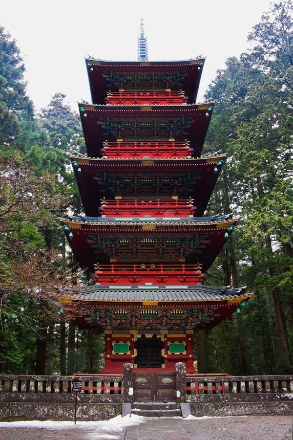 Pagoda At Rinnoji Temple Stock Images