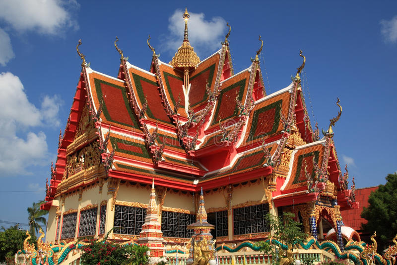 Pagoda,Samui, Thailand stock photos