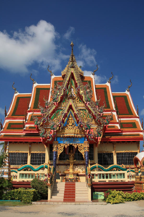 Pagoda,Samui,Thailand. Buddhistic pagoda at Koh Samui island, Thailand royalty free stock image