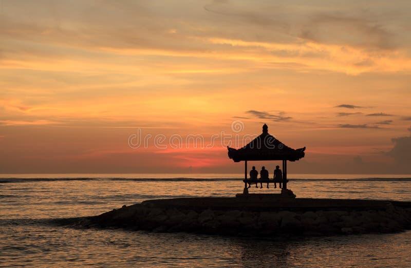 Pagoda At Sanur Bali Royalty Free Stock Photo
