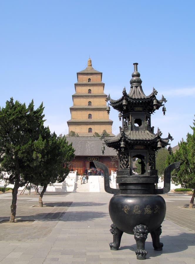 Pagoda sauvage géante d'oie photo libre de droits
