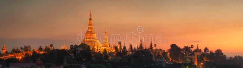 Pagoda Shwedagon стоковые изображения