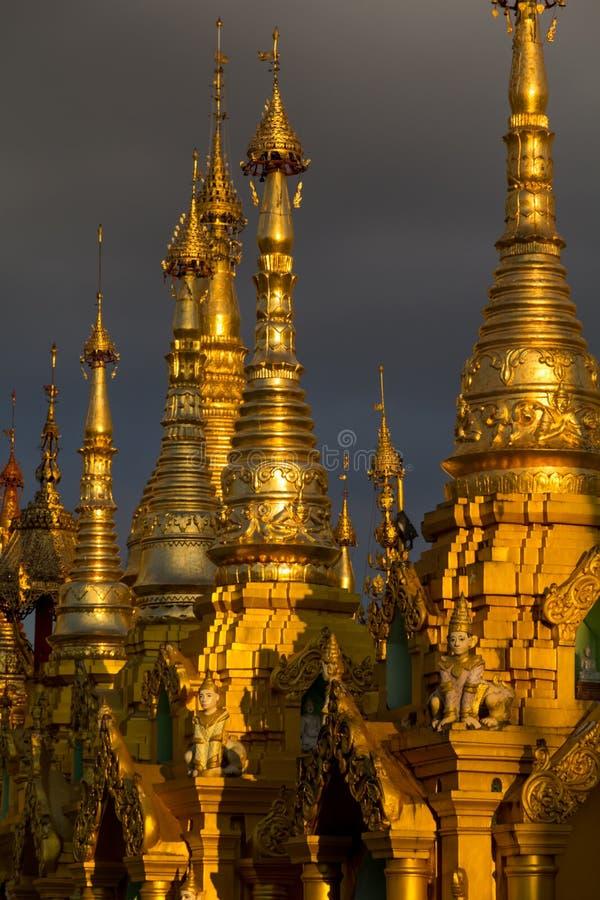 Pagoda Shwedagon стоковая фотография rf
