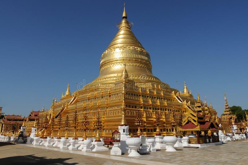 Pagoda Shwezigon fotos de archivo