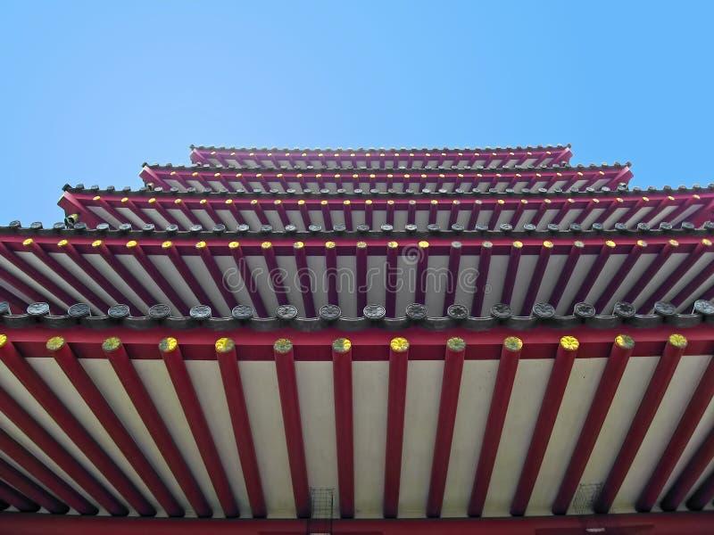 Pagoda Sky Royalty Free Stock Photo