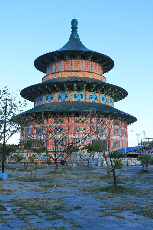 pagoda Sorabaya photo stock