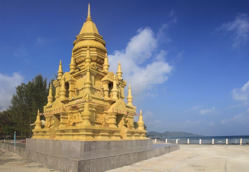 Pagoda Taling Ngam Ko Samui del SOR di Laem immagine stock