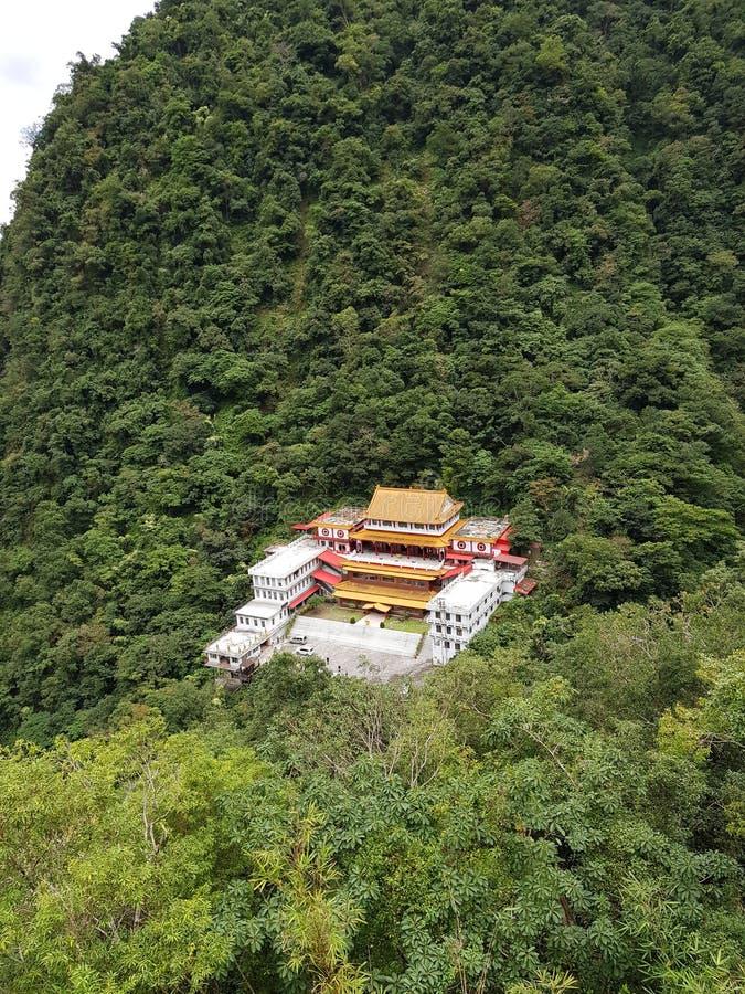 Pagoda at Taroko park stock photo