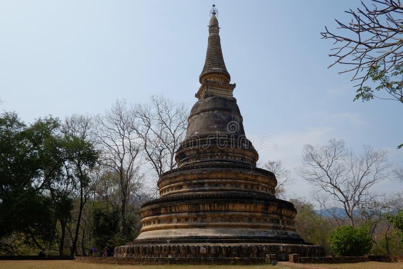 Pagoda thaïe antique photos stock