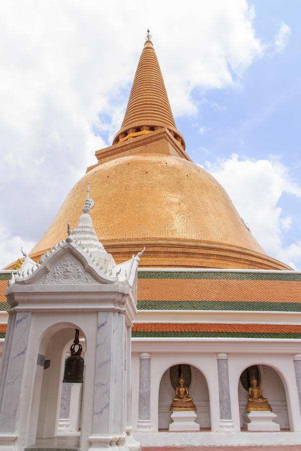 Download Pagoda in Thailand stock photo. Image of cloud, temple - 27061456