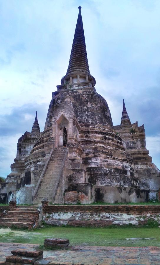 Pagoda in Thailand royalty free stock images