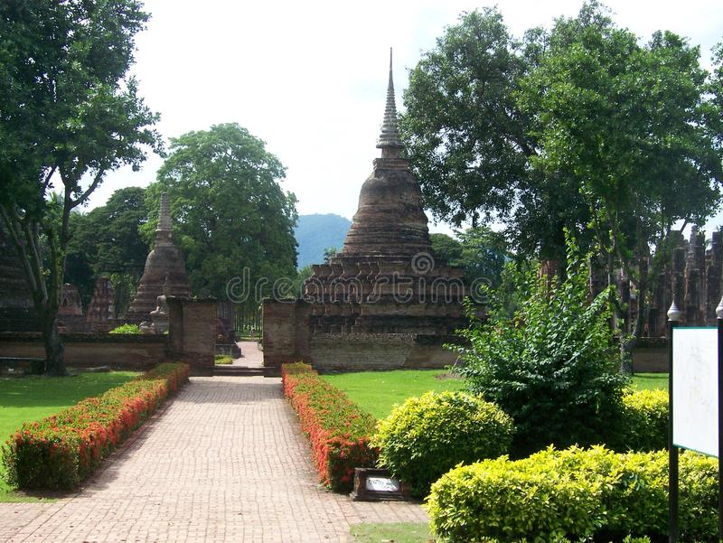 Pagoda. In thailand royalty free stock photography