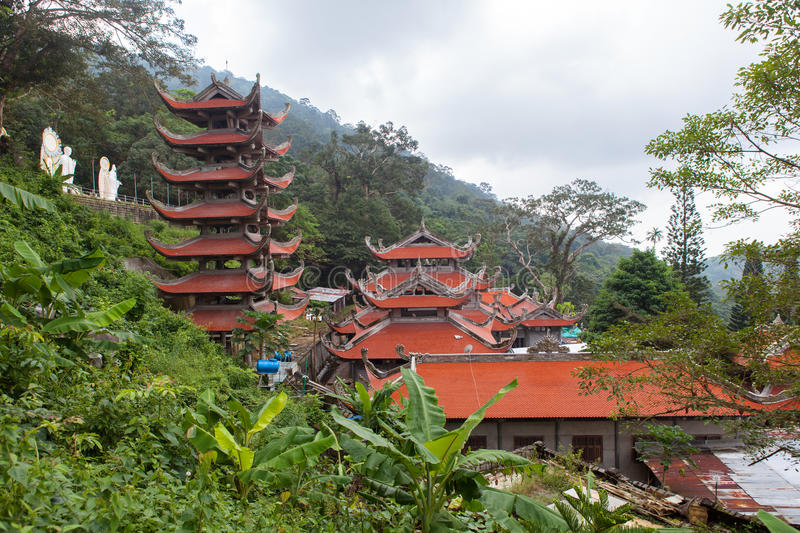 Pagoda in Vietnam. royalty free stock image