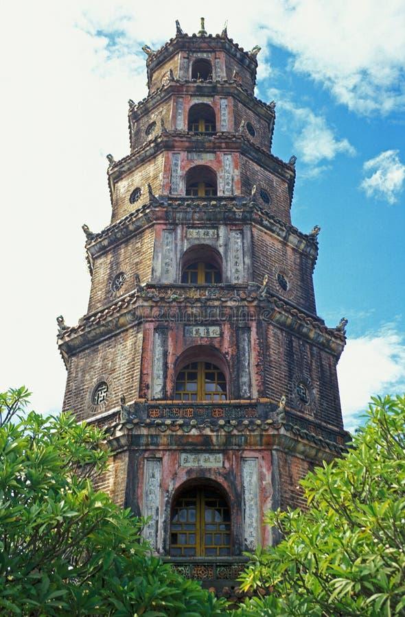 Pagoda vietnamita foto de archivo