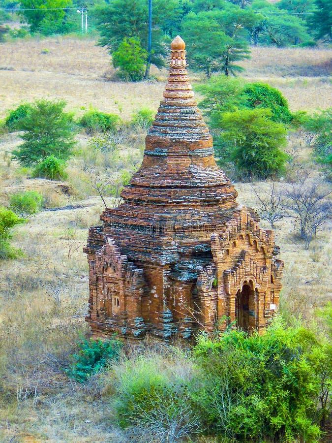 Pagoda w Bagan, Mandalay (poganin) fotografia royalty free