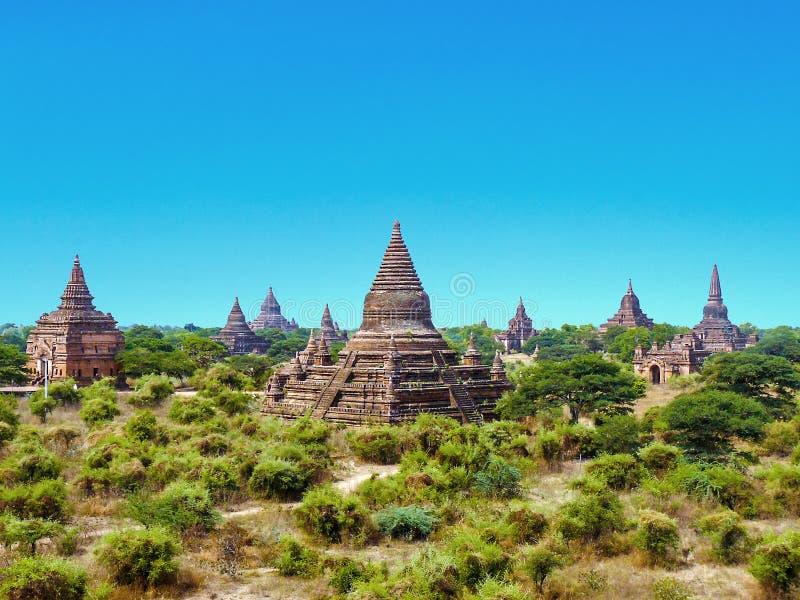 Pagoda w Bagan, Mandalay (poganin) obraz royalty free