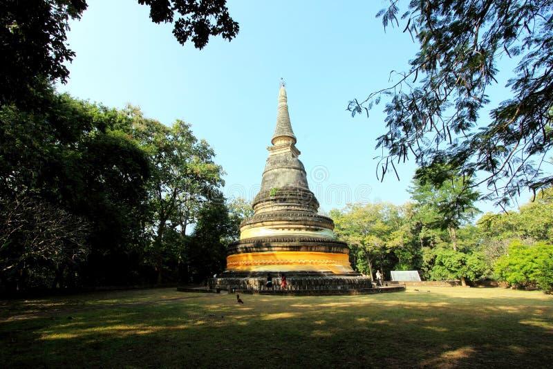 Pagoda w Umong świątyni obrazy stock