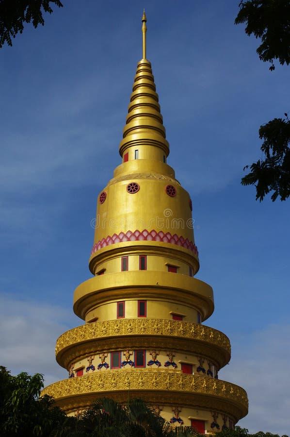 Pagoda of Wat Chaiyamangalaram royalty free stock photo