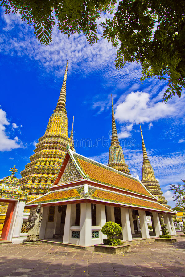Download Pagoda at Wat Pho stock image. Image of grand, religious - 38297039