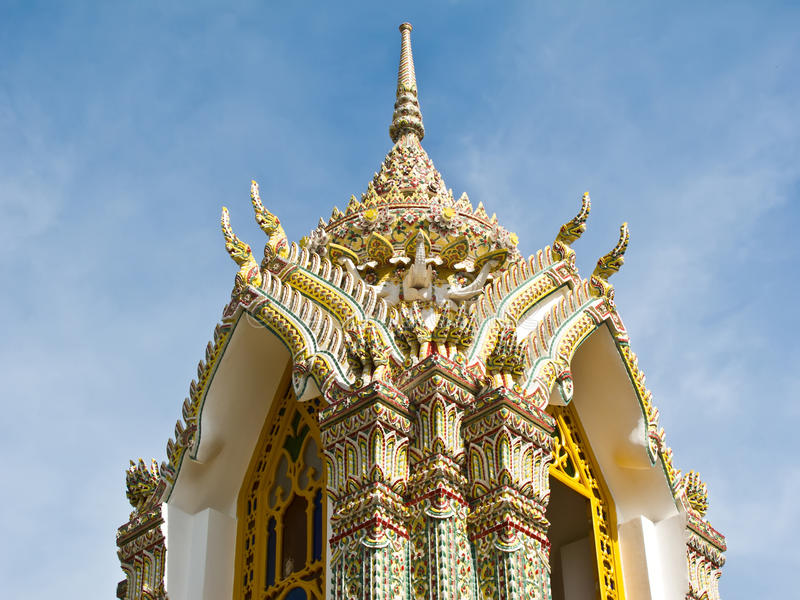Download Pagoda At Wat Ratchabophit , Bangkok Thailand Royalty Free Stock Images - Image: 21295339