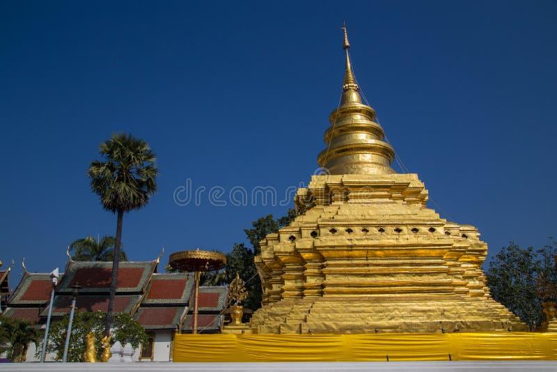 pagoda złota obraz stock