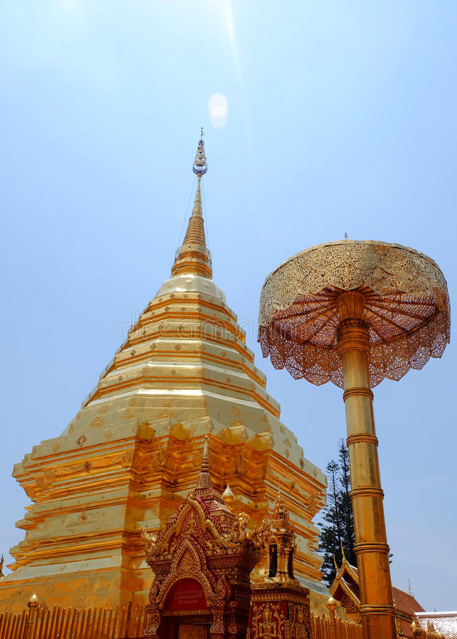 pagoda złota obraz royalty free