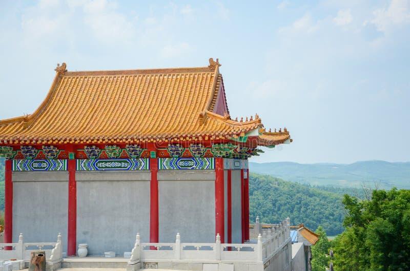 Pagodahouse tradicional chinês fotografia de stock royalty free