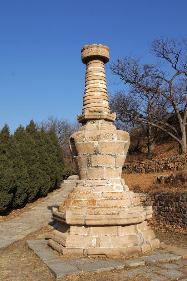 Pagodas 11 di Yinshan immagini stock