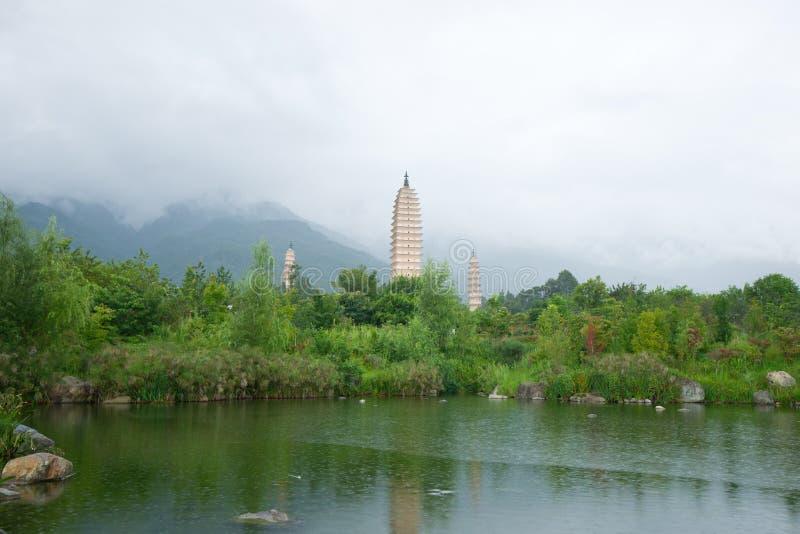 Download Pagodas stock photo. Image of characteristic, dali, monastery - 26628680
