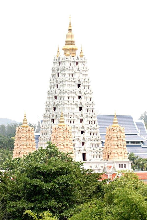 Pagodas antiques en Thaïlande. image stock