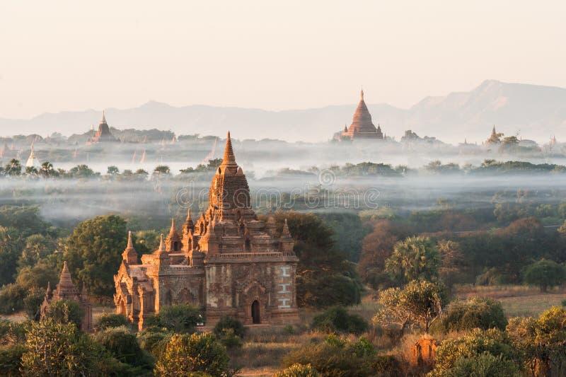 Pagodas de Bagan fotos de archivo