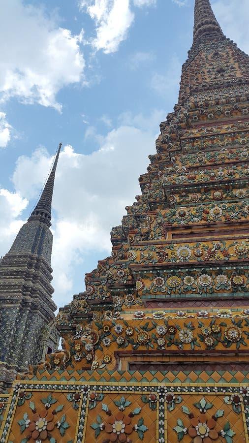 Pagodas imponentes foto de archivo libre de regalías