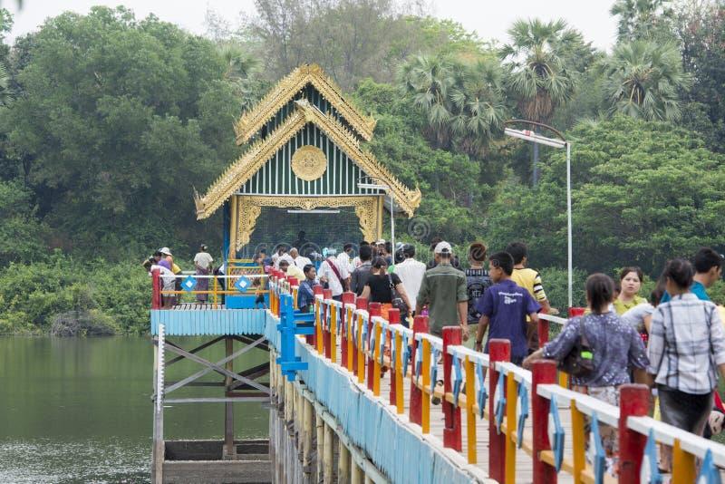 PAGODE ASIENS MYANMAR BAGAN LAWKANANDA lizenzfreies stockfoto