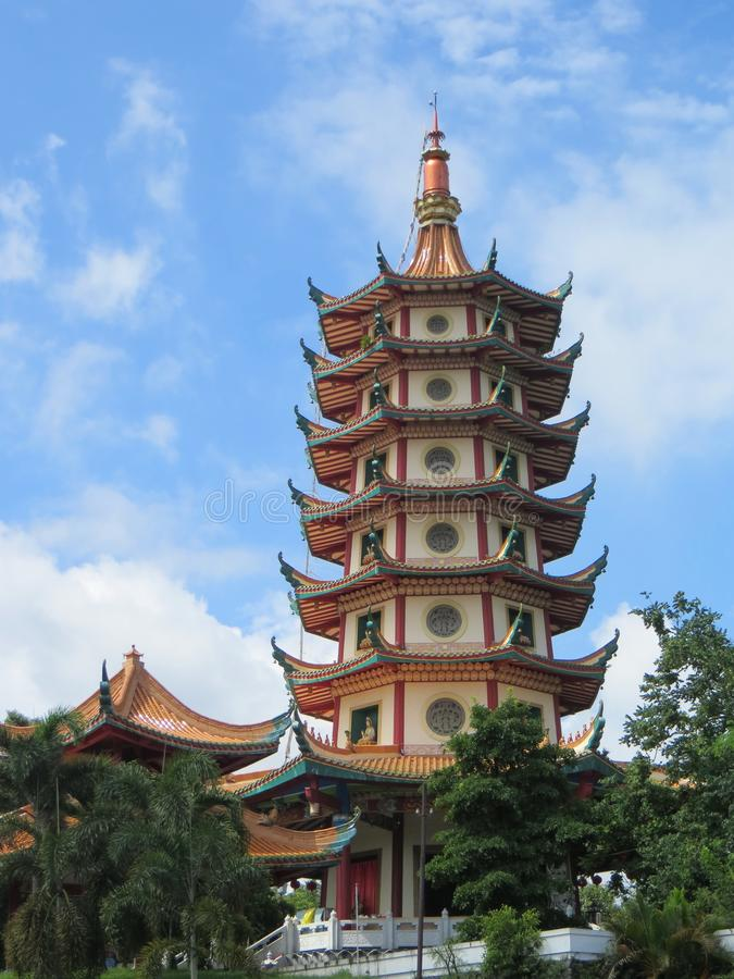 Pagode Avalokitesvara in Semarang stock fotografie