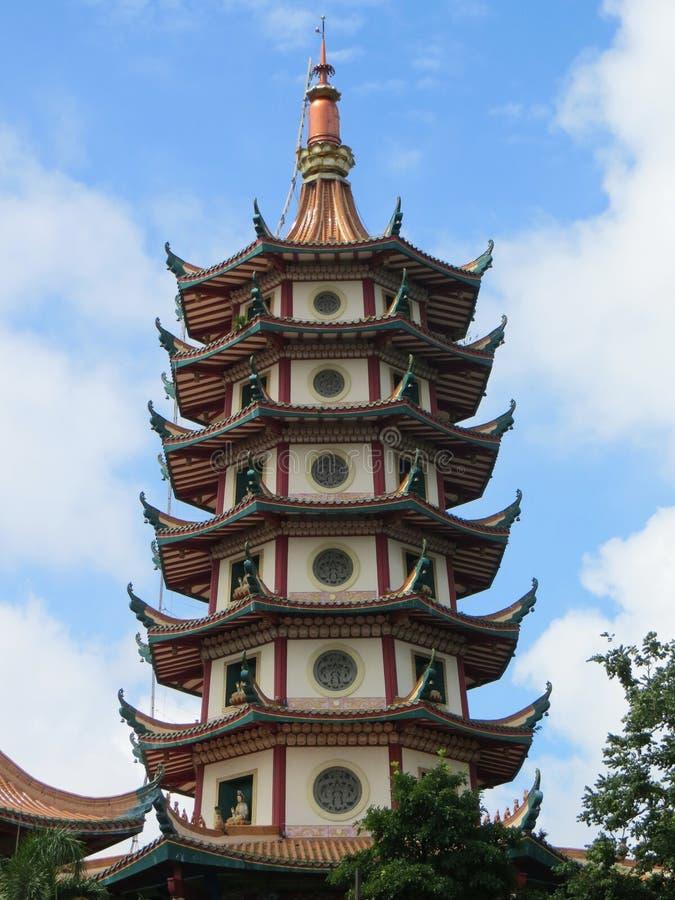 Pagode Avalokitesvara in Semarang royalty-vrije stock afbeeldingen