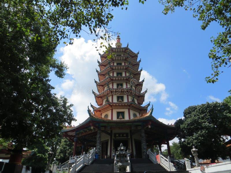 Pagode Avalokitesvara in Semarang stock foto