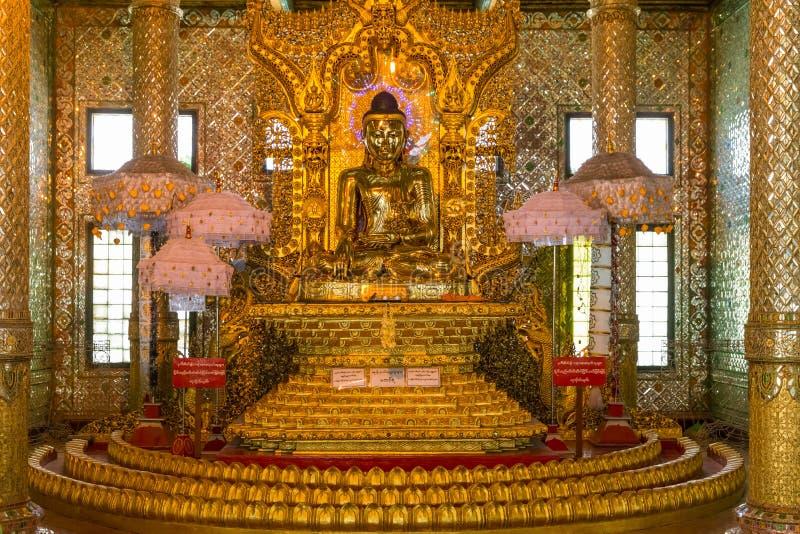 Pagode de Botataung, Yangon, Myanmar foto de stock