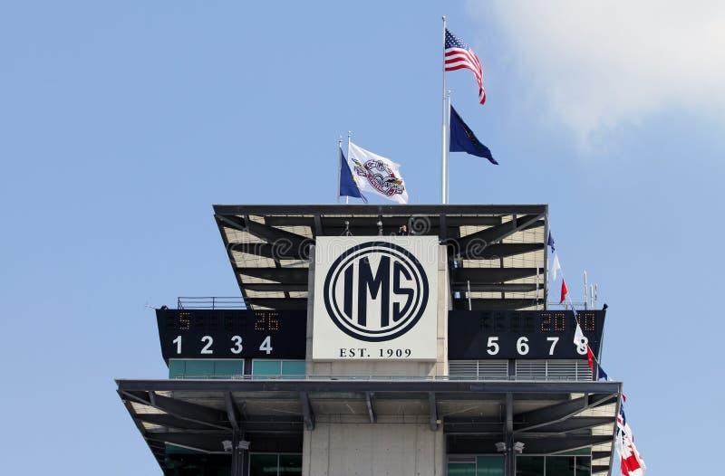 Pagode de Indianapolis Motor Speedway imagem de stock royalty free