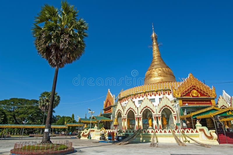 Pagode de Kaba Aye em Rangoon, Myanmar imagem de stock